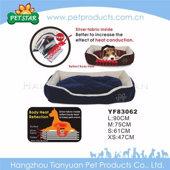 New Import Pet Product Sofa Luxury Heated Pet Bed