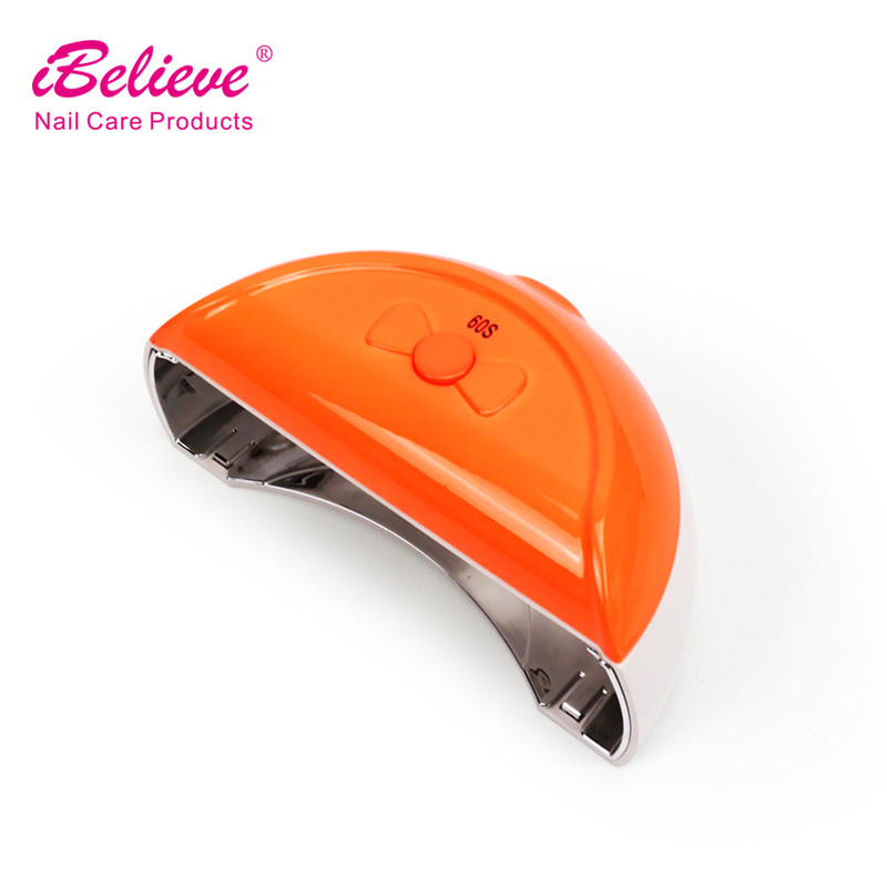 Alibaba best selling nail beauty tools portable 9 watt gel dryer acrilic nail led lamp