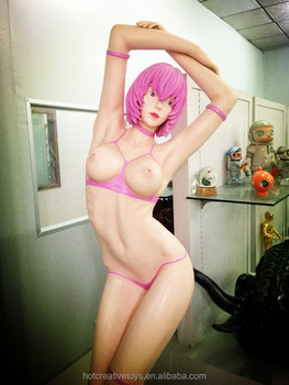 Custom Hot Sexy Resin Girl Sculpture, 1/1 scale Resin Sexy Nude Girl Statue