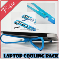 Newest high quality laptop cooler creative fanless computer accessory for sale