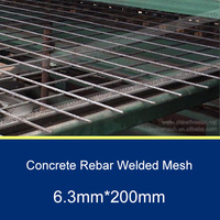 150MM*150mm Rebar Welded Mesh Panel