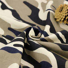 164cm 32x21/120x56 169GSM 100% COTTON TWILL 2/1S camouflage fabric to manufacture military uniforms