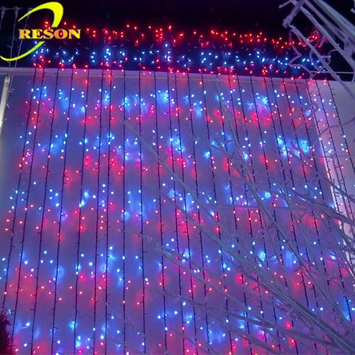 Cheap goods from china party lighting led color changing curtain light