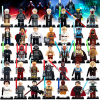 All Starwars Series Superheroes! Superman Mini Action Figure Building Block toys for kids