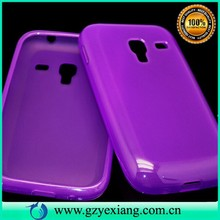 Candy color back cover for samsung galaxy ace plus s7500 tpu case