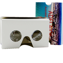 High quality custom Google Cardboard Version 2 Vr Box 2.0 Vr Virtual Reality 3D Glasses