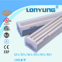 12.m t5/t8 sex red tube high lumens led t5 tube with 5years warranty1led lighting lamp