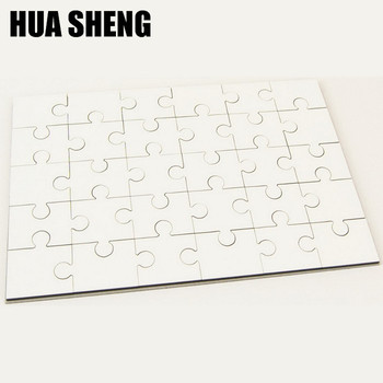 wholesale good price blank mdf A4 puzzle sublimation