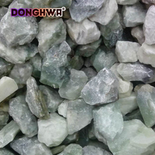 Green jade gravel for gardens Size 3-120mm