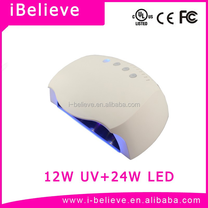 Curing All Gels 2016 Latest 36W New Tech 365nm LED Bulb Nail Lamp lampe manucure led ccfl 60w