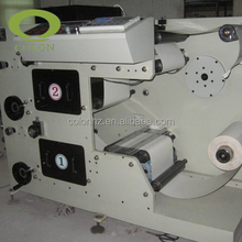 FPL520-2 UV IR Drier 2 Colour Paper Roll To Roll Flexo Sticker Label Printing Machine