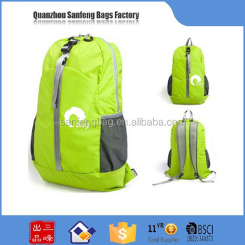 High quality sports backpack bag, multi-functional foldable gym bag sports
