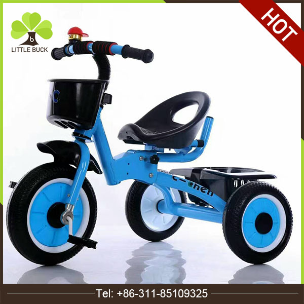 CE standard baby tricycle children music trike fashion model tricycle for baby factory wholesale