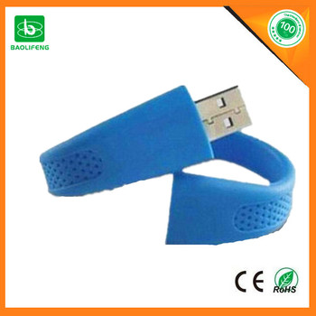 alibaba express hot selling products silicone usb bracelet