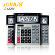 Hot selling cheap price Financial desktop big calculator dual power