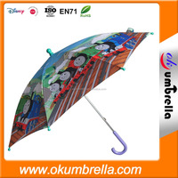 cheap cartoon printing small kid umbrella made in CN,christmas gift umbrella,cute umbrella
