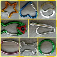 Carabiner Keychains with Compass or LED Lighter Wholesale