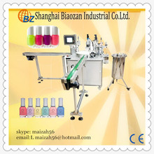 Cosmetics liquid bottle Nail Polish Filling Machine, View cosmetic filling machine TIGER NF-35A