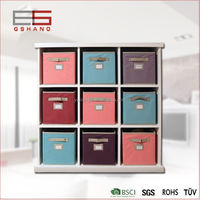 Home collection closet fabric box folding storage smart cube