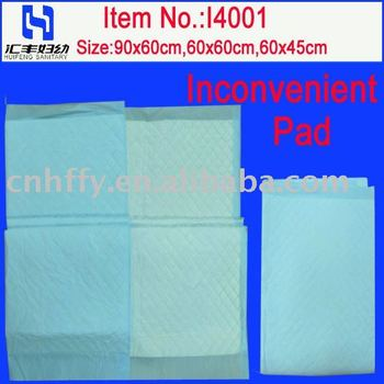 High Absorbent Incontinence Pad with high absorbent ability