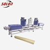 waste wood recycling machine used wood briquette press machine