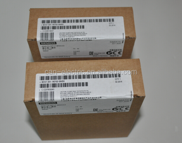 6ES7331-7NF10-0AB0 / 6ES73317NF100AB0 ANALOG INPUT SM 331 8 AE SIMATIC S7-300 PLC IN STOCK