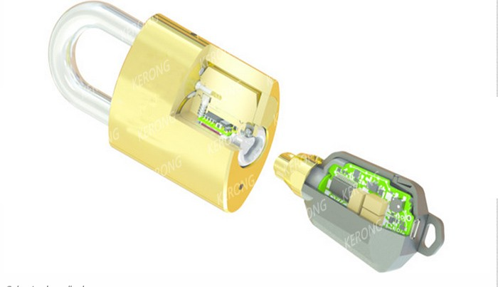 New design program keys smart cylinder lock