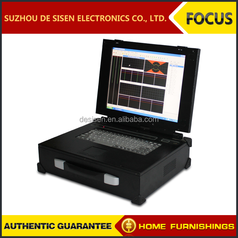 Suitable for different kinds of metal /wire material inspection votex flaw detector