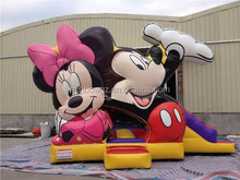 2015 hot sale Kids mickey minnie mouseinflatable bouncer