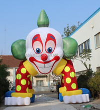 halloween clown arch inflatable