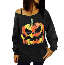 Fashion Womens Clothing Halloween Strapless Sweater