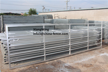 galvanized steel farm fence gate/galvanized cow fencing