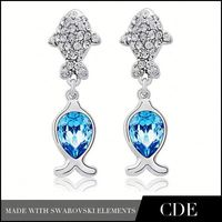CDE Imitation Jewellery Making Materials for Crown Stud Earring 2016
