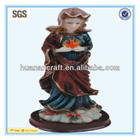HN11J024 luminated modern resin holy mary statue