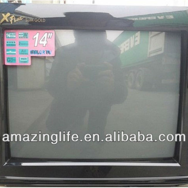 2013 new arrival 14 inch crt tv with best price