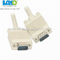 Best selling! High performance 30m TV vga to vga cable