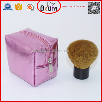 Belifa goat hair round top kabuki brush in makeup brushes