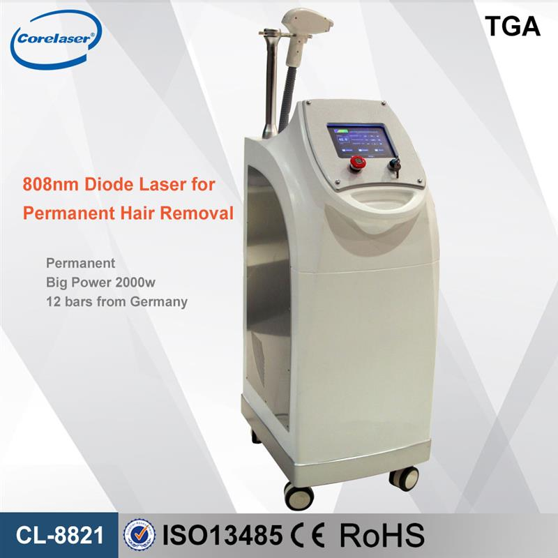 High quality diode laser hair remval system / permanent laser hair removal equipment