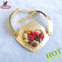 Fashion Accessories Gold Plated Sexy Gemstone