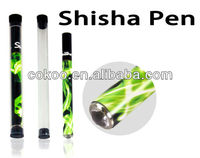 Hot selling colorful electronic shisha sticks for women 2013.Portable elektro shisha pen wholesale with EXW price.