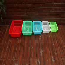 plastic basket for fruit and vegetable