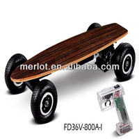 new style gas 800w motor electric skateboard