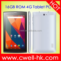 LTE706 7 Inch IPS Screen 1GB RAM/16GB ROM tablet 4g gps wifi 7 inch city call android phone tablet pc