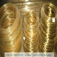 Brass Wire For Zipper / Eyeglasses / Rivets