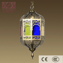 Moroccan colorful hanging light for lighting decoration