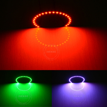 Promotional Design! RGB Angel Eyes HiD Bulb with remote Controller