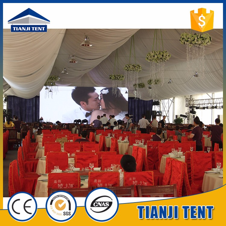 top quality wedding tent drapes made in China