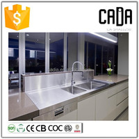 direct china manufacturer utility handmade 304 stainless steel ready made kitchen cabinets with sink