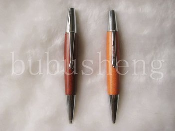 advertising good quality fatter in the middle ball pen with customer logo