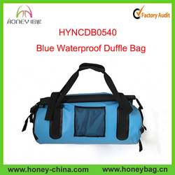 Hot Selling Durable 100% Waterproof PVC duffel bag with pocket
